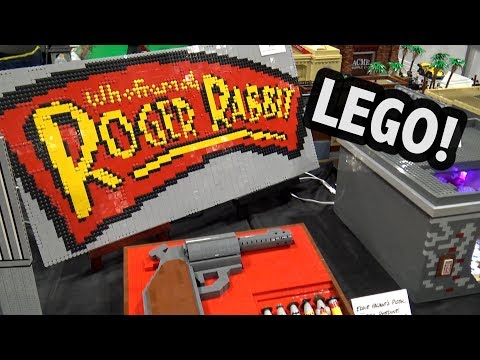 LEGO Who Framed Roger Rabbit Display – 250,000 Pieces!