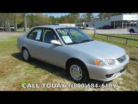 2001 Toyota Corolla LE Review * For Sale @ Ravenel Ford * Charleston, SC