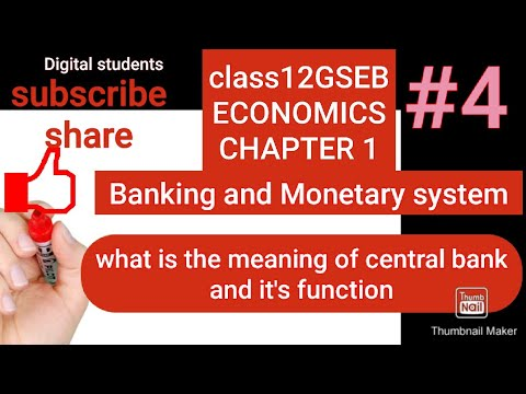 what is the central banking system