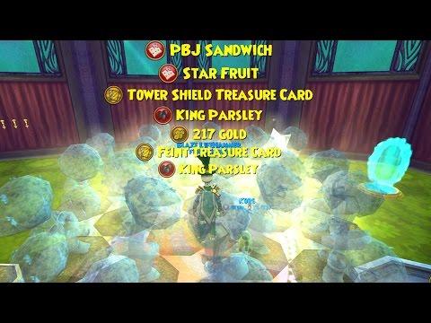 Wizard101: KING PARSLEY DOUBLE REWARDS HARVEST!