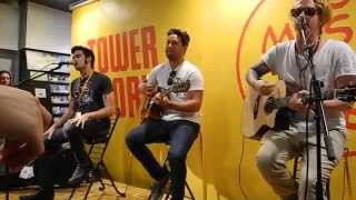 Check Yes Juliet (Acoustic) - We The Kings @ Tower Records Tokyo (May 29, 2014)