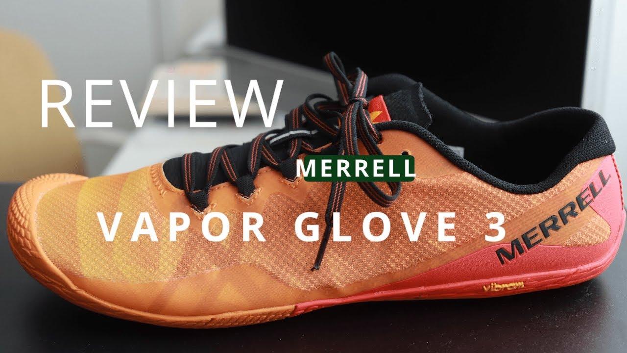 Merrell Vapor Glove 3 (Review) - YouTube