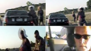 Two bikini clad women sue after subjected to body cavity search on the side of Texas highway.