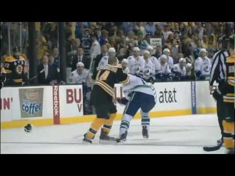 Boston Bruins biggest hits of the 2011 Stanley Cup Playoffs