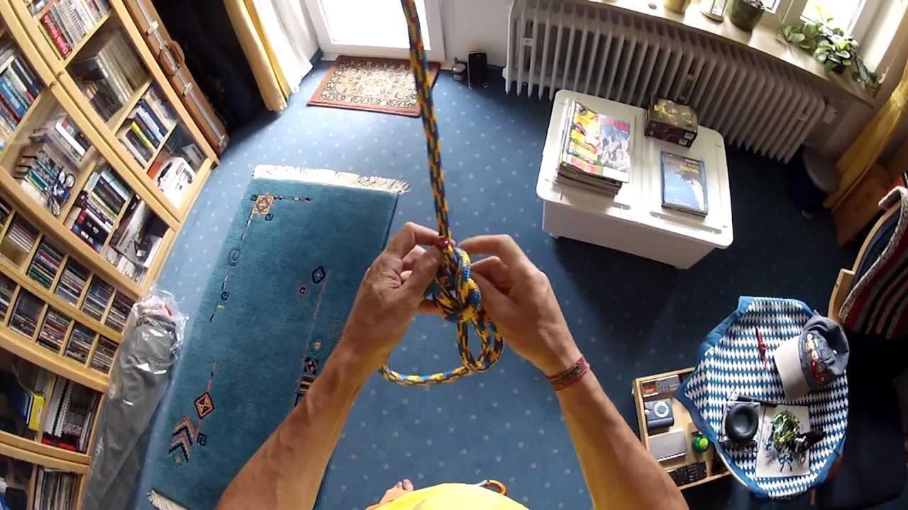 Klettergurt Selber Knoten : Bulin knoten yosemite bowline höchste