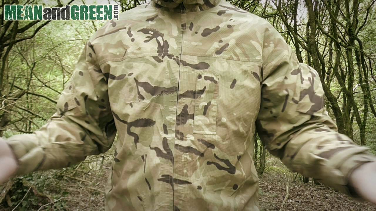 8905e663da5cb British Army MTP Lightweight Goretex Jacket - YouTube