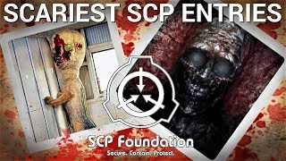 Top SCARIEST SCP Entries of all Time (Top Creepy SCPs)
