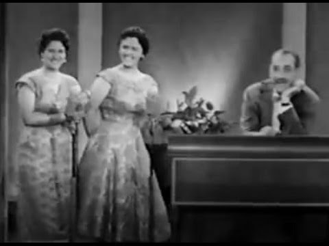 You Bet Your Life #57-01 Lena & Mercedes, the confusing Portuguese sisters ('Food', Sep 26, 1957)