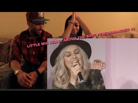 "Couple Reacts : Reupload : Little Mix Performs ""About the Boy"" Reaction!!!"