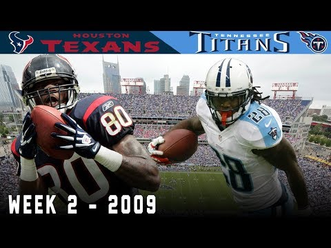 Andre Johnson & CJ2K Big Play Battle! (Texans vs. Titans, 2009) | NFL Vault Highlights