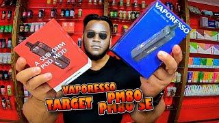 Vaporesso PM80 и PM80SE 18650 - Самый вкусный и компактный под мод на 80 Ватт