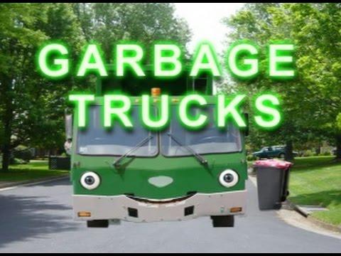 HOW GARBAGE TRUCKS WORK FOR KIDS | Talking Garbage Truck