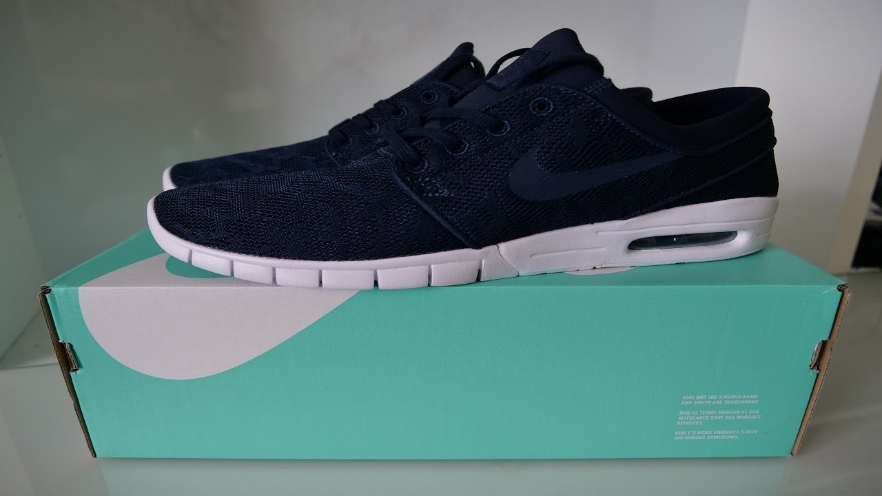 best loved 62317 ce6b6 Nike SB Stefan Janoski Max Obsidian  Mineral Gold Trainers Unboxing