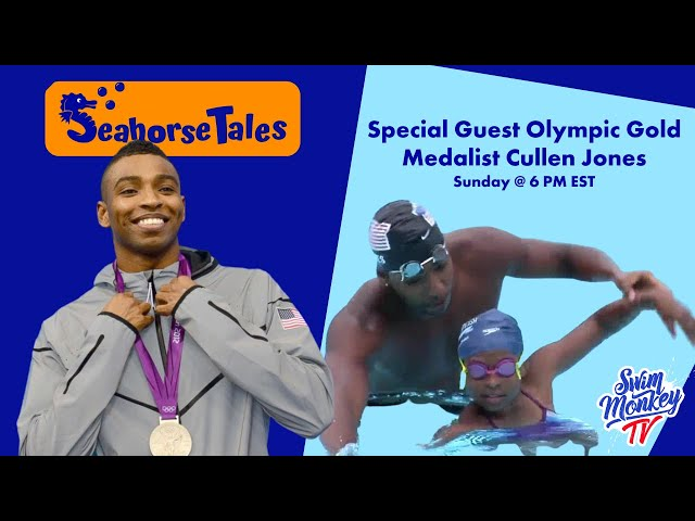 FB Live: Seahorse Tales with Olympic Gold Medalist Cullen Jones