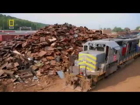 MegaStructures Train Wreck National Geographic Documentary