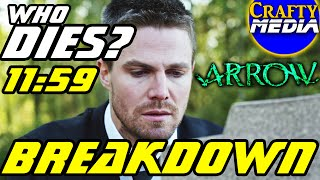 Arrow Who Dies at 11:59 Predictions?! Arrow Season 4 Episode 18 Promo Trailer Breakdown!