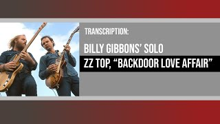 Watch ZZ Top Backdoor Love Affair video