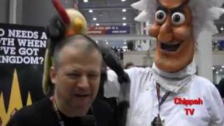 Chippah TV - Chip Chipperson at New York Comic Con 2011 Pt. 1