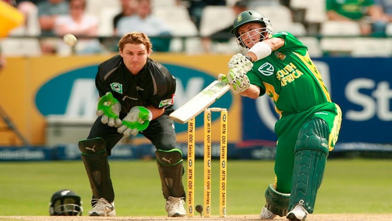 South Africa vs New Zealand 2007 3rd ODI Cape Town - Herschelle Gibbs 119