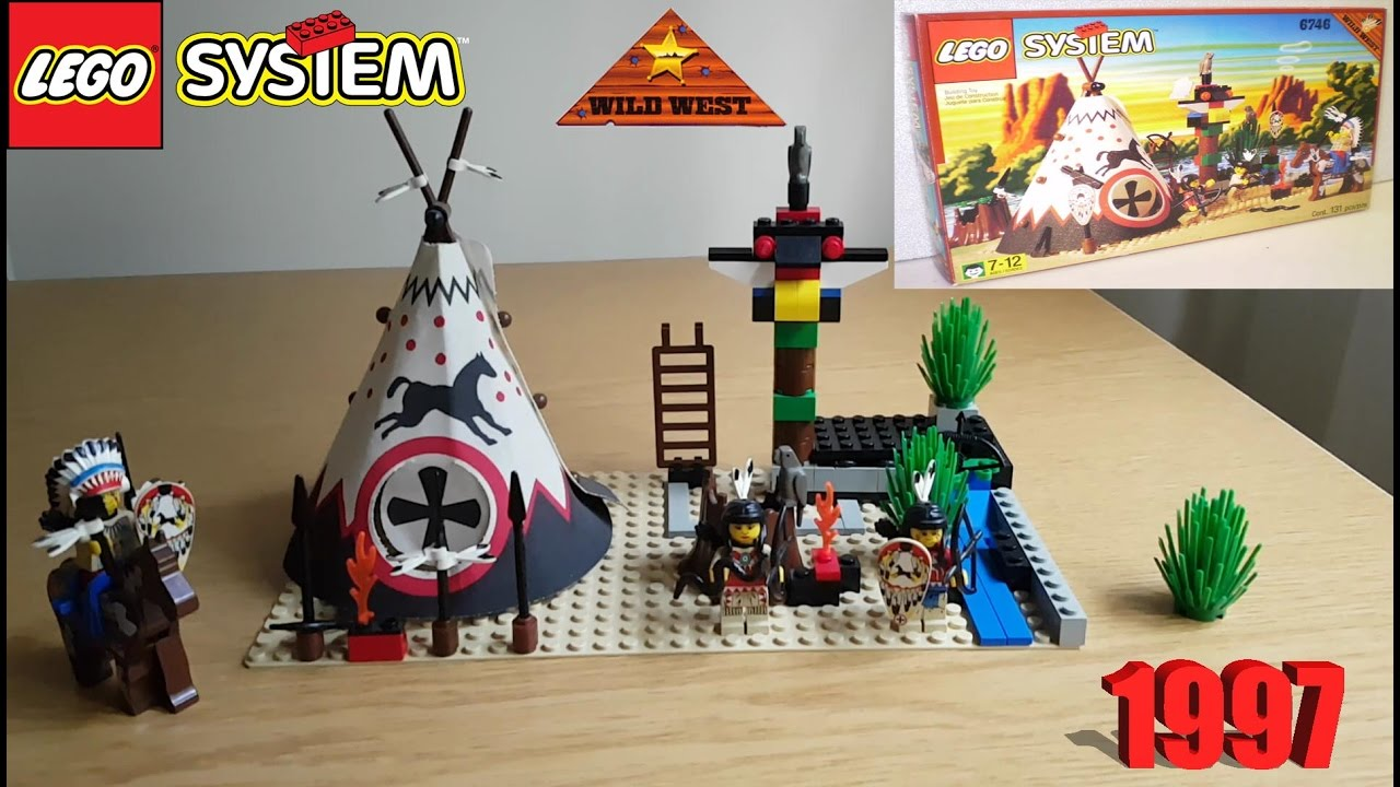 LEGO: Western Indian 6746 Chief's Tepee 1997 Review