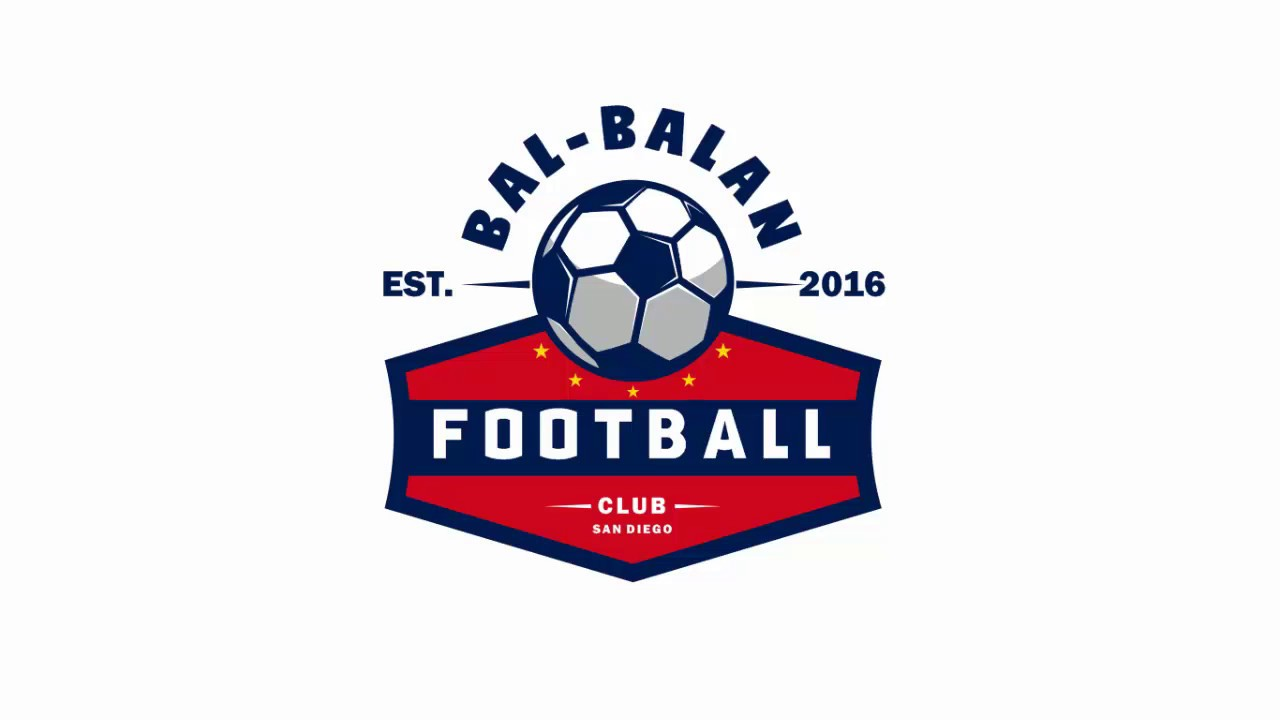 How To Make Football Club Logo In Corel Draw Youtube