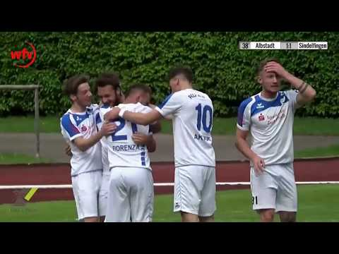 FC 07 Albstadt - VfL Sindelfingen, 1:1 durch Felix Loch