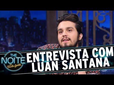 Entrevista com Luan Santana | The Noite (30/11/16)