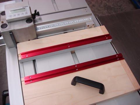 Table saw sliding table