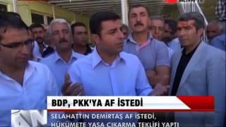BDP, PKK'YA AF İSTEDİ