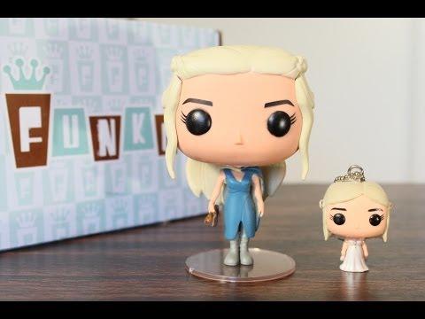Funko Pop Television Daenerys Targaryen 25 Blue dress Game of Thrones
