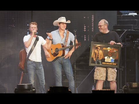 Surprised with Gold Plaque by Dierks Bentley