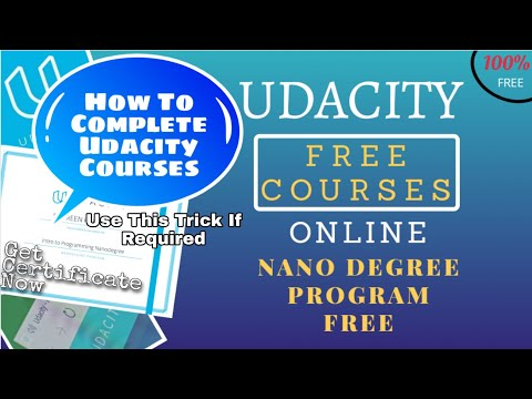 How To Complete Udacity Nanodegree In Subscription Time Period | Complete Udacity Courses Fast