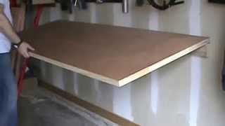 Foldable work bench