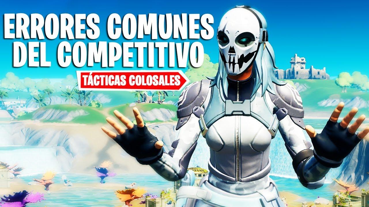 Los errores más comunes que cometen los jugadores competitivos | Tácticas Colosales | CAOZ
