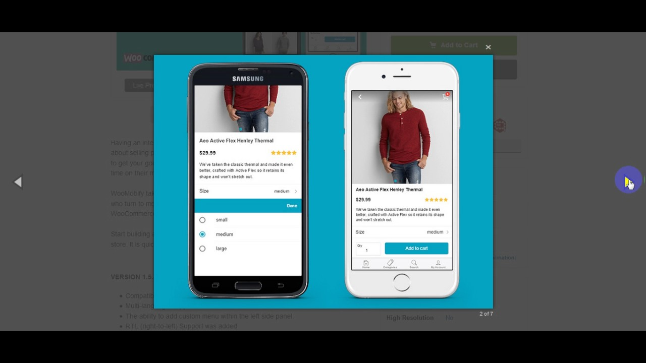 mCommerce – WooCommerce Mobile Theme free Download - YouTube