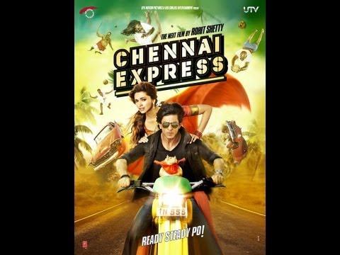 Chennai Express Posters | Shahrukh Khan & Deepika Padukone