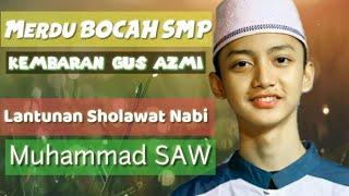 SUARA Merdu bocah SMP melantunkan Sholawat