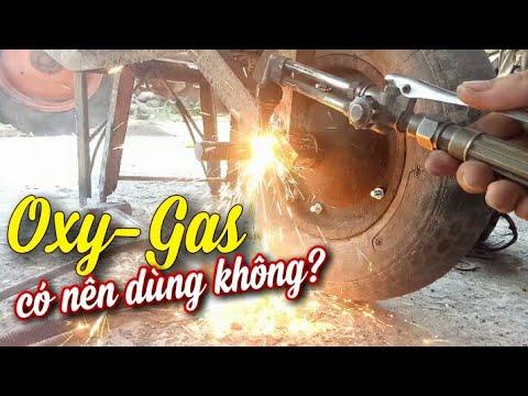 Bộ gió đá(oxy-gas),cách cắt oxy gas