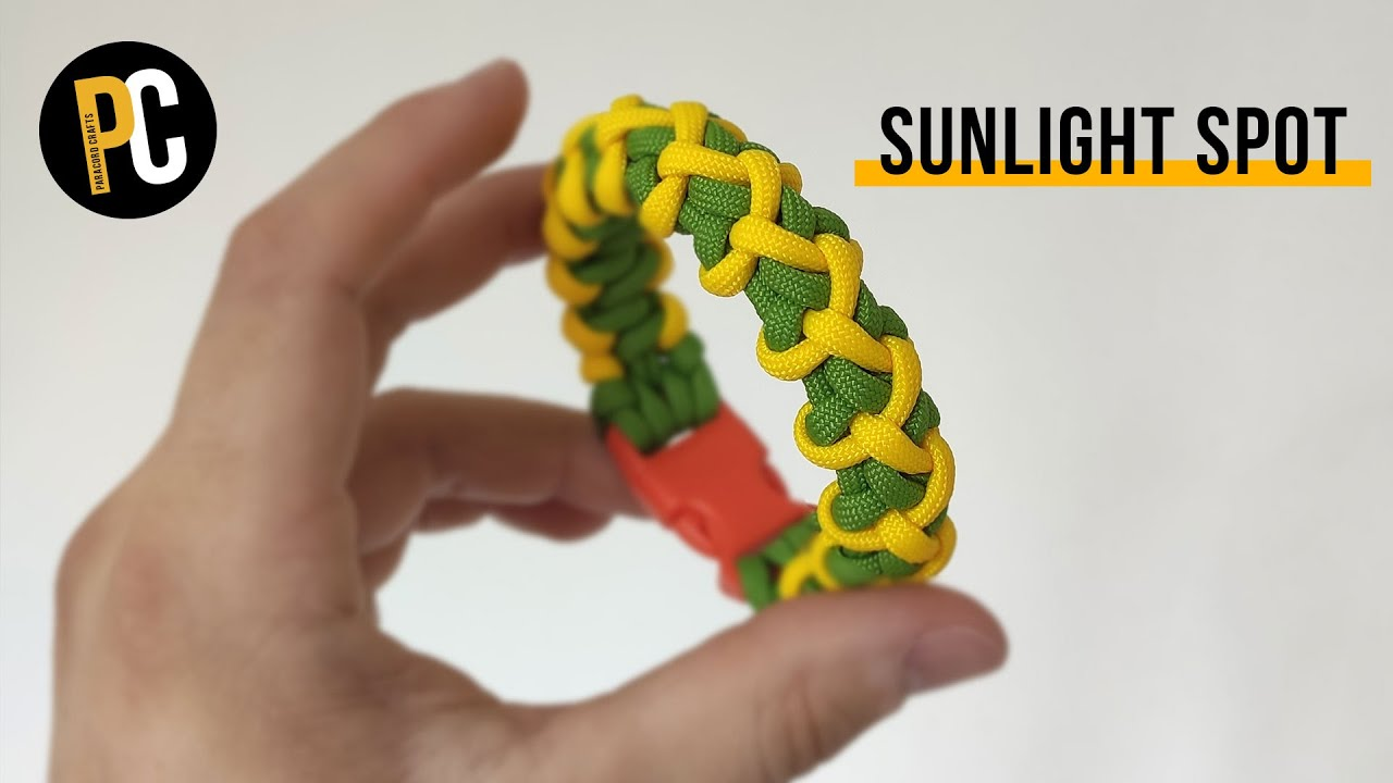 How to make Sunlight Spot | Paracord Bracelet tutorial