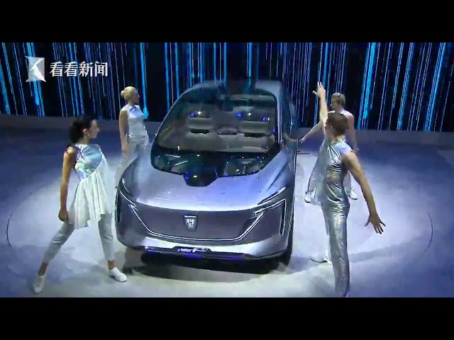视频|2019上海车展|荣威全新概念车:全球首款5G座舱