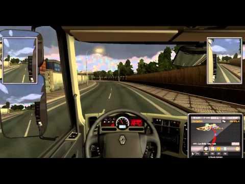 Euro Truck Simulator 2 - Lyon Genève Aller et retour