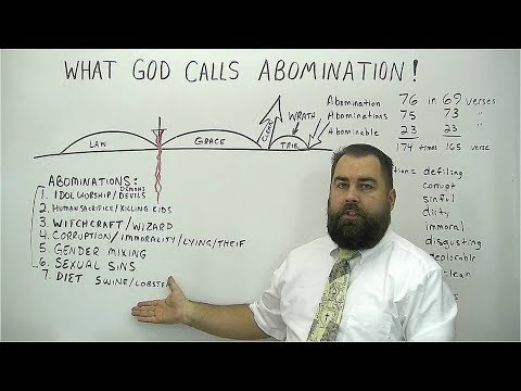 What God Calls Abomination