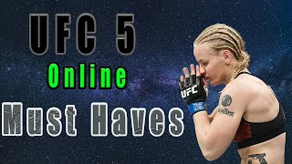 4 UFC 5 Expectations for Online play - Better Cage Clinch /Online game chat (Tough Ranked fight)