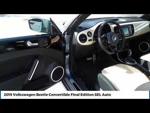 2019 Volkswagen Beetle Convertible Street Volkswagen of Amarillo Presents VK5007