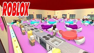MY FIRST RESTAURANT IN ROBLOX & JOB WORKS NEXT TO ME!