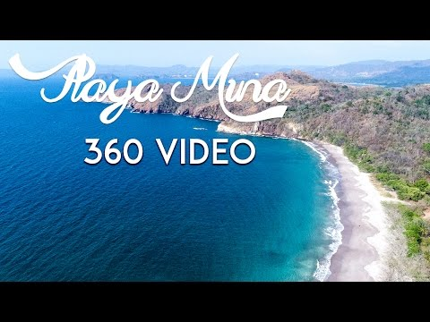 Playa Mina, Guanacaste Costa Rica 360 Video