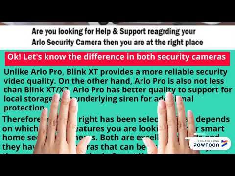 Blink XT/XT2 vs Arlo Pro Camera Review Via Arlo Support Number 18779846848