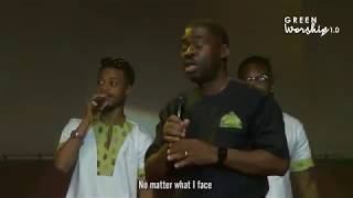 Live performance by Wale Adenuga at Green Worship 1.0 concert.