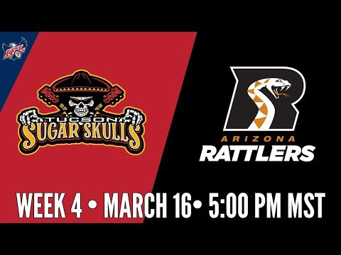 Week 4 | Tucson Sugar Skulls at Arizona Rattlers