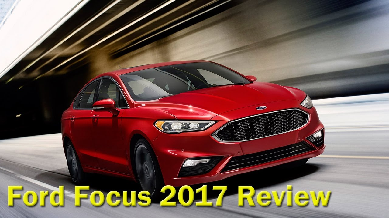 ford focus 2017 titanium sedan review youtube. Black Bedroom Furniture Sets. Home Design Ideas